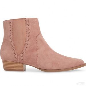 🆕 Joe's Pink Suede Chelsea Booties
